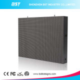 Cartelera video fija a todo color al aire libre ahorro de energía de la pared de P10 LED para la publicidad comercial