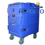 caixa moldada Roto do refrigerador do armazenamento 600L frio