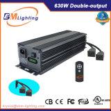 Reator do Hydroponics 630W 600W Dimmable Digital para a lâmpada de CMH/HPS