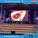 Pantalla curvada alquiler al aire libre de alta resolución del vídeo de P4.81 LED