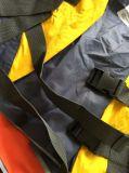 Katoenen van de Kleur van de kalk Vlam - het Vest van hallo-Vis van de Luchtvaartlijn van de Veiligheid van het Onderhoud van de vertrager