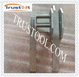 CNC qualificado que faz à máquina o resplendor da glândula do aço inoxidável