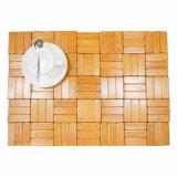 Placemat naturel en bambou pour table et revêtement de sol