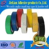 Surtidor adhesivo múltiple del chino del papel de Crepe de la cinta adhesiva de la buena calidad del color