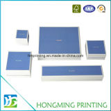 Luxusgesetzter Papierschmucksachen Geschenk-Kasten mit Schaumgummi-Einlage