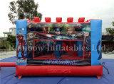 Neue Ankunfts-aufblasbares federnd springendes Schloss für populären Held-Karton