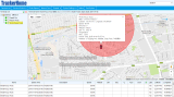 Auto-Warnung GPS-Fahrzeug-Verfolger Tk105 mit Temperaturfühler