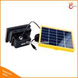 projector 3W 12LED solar impermeável ao ar livre para o gramado do jardim