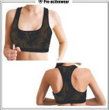 Sutiã removível de funcionamento dos esportes das almofadas da ioga das mulheres feitas sob encomenda por atacado