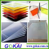 Bunte 2-10mm PMMA materielle Acrylanschlagtafel durch sehen