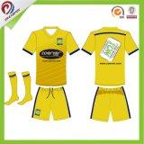 Costume livre futebol Sublimated Jersey do futebol sem o pedido de MOQ