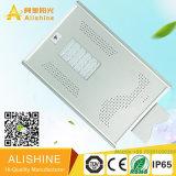 luz de calle solar integrada toda junta de 20watts LED con la batería de litio LiFePO4