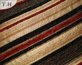 Tissu de Chenille horizontal de la bande 2016 pour le tissu de sofa (FTH31002C)