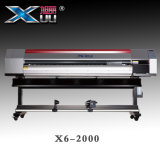 Stampante di getto di inchiostro della testina di stampa X6-2000 Digitahi di larghezza Dx5 di Xuli 1.85m