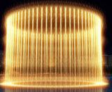 Fonte interna da cortina de água da música da fonte de água