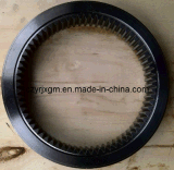 Высокое качество кольца шестерни кольца шестерни кольца шестерни CNC винтовых зубчатых передач кольца шестерни кольца шестерни и кец шестерни подвергая механической обработке горячего выкованного внутренне