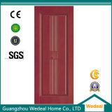 Porte composée en plastique en bois de qualité de fabrication d'usine