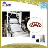 Cadena de producción compuesta plástica de una sola capa del estirador de hoja de Doublelayer del ABS