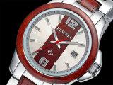 Relojes unisex baratos de madera de la fábrica de China