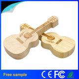 USB de madera vendedor caliente Pendrive de la guitarra