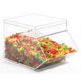 De acryl MiniBak van het Suikergoed die voor het Opslaan van Manufacturen wordt ontworpen
