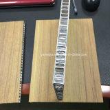 Comitati di alluminio del favo del coperchio di legno