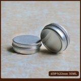 o cosmético das latas 50g de alumínio estanha os frascos de creme
