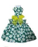 Crabot d'animal familier de robe de crabot d'été de mode le joli vêtx des configurations de fleur