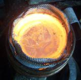 금 Silver Furnace&#160를 녹는 직업적인 유도 가열을 녹는 백금; 냉각장치로
