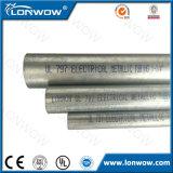 Conduit électrique de la pipe galvanisé par acier EMT