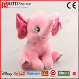 Het leuke Gevulde Stuk speelgoed van de Olifant van de Pluche Roze voor Jonge geitjes