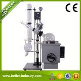 Eléctrico automático de elevación de cristal evaporador rotatorio con indicador de vacío