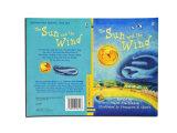 Los colores completos profesionales imprimieron el libro de la historia para los niños, elemental