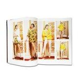 Form-farbenreicher Zoll gedruckte kleidende Zeitschrift