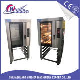 Forno elettrico di convezione di riflusso dei cassetti dell'aria calda 8 con vapore