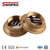 Dreno e filtros de bronze do chuveiro