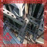 Hohe gewellte Metallverschalung für Betonmauer, Träger, Spalte