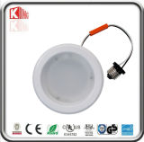 Vendas diretas Recessed guarnição da fábrica do diodo emissor de luz Downlight 10W Dimmable do defletor da estrela 4inch da energia de ETL