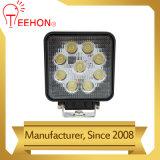 Luz redonda del trabajo de 27 vatios LED