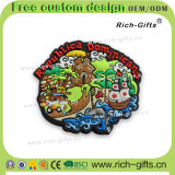 Ricordo domestico personalizzato Punta Cana dei magneti del frigorifero del PVC dei regali della decorazione (RC- FANNO)