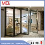 Grande porta Bifold de alumínio de Lowes para o balcão