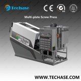 Máquina de desecación de la prensa de tornillo de la Multi-Placa de la alta calidad para el lodo de la industria química