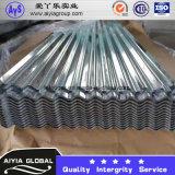 Painéis de aço galvanizados do telhado para materiais de construção