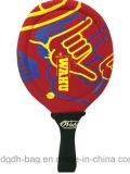 ロゴおよびデザインはカスタマイズされたポプラ浜のテニスラケットである場合もある