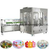 Máquina tampando da bebida automática da máquina de enchimento