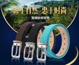 Cinghia di cuoio genuina convenzionale semplice degli accessori di modo degli inarcamenti di cinghia di cuoio