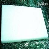 大きいサイズの乳白色の白い水晶ガラス板