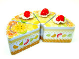 Kuchen Tin Box mit China Strawberry für Show Decoration