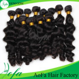 100%Indian all'ingrosso Human Hair Virgin Remy Hair Extension