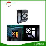 10 indicatore luminoso chiaro impermeabile esterno della grondaia della rete fissa di energia solare LED dell'indicatore luminoso Control+Montion Sensor+Dim della decorazione del giardino del LED